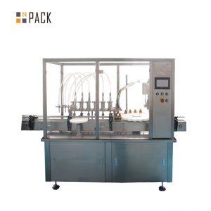 गर्म बेचने स्वचालित बोतल 2 नोजल भरने की मशीन जड़ी बूटी फूल आवश्यक तेल शीशी भरने कैपिंग मशीन