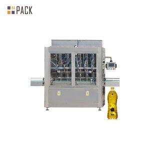 स्वचालित क्षैतिज तरल और खाना पकाने के तेल भरने की मशीन