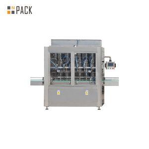 आवश्यक तेल के लिए स्वचालित रैखिक सीधे पिस्टन भरने की मशीन