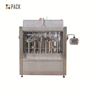 वॉल्यूमेट्रिक टमाटर सॉस स्वचालित तरल भरने की मशीन