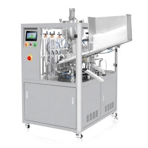 अल्ट्रासोनिक सील कॉस्मेटिक ट्यूब भरने की मशीन