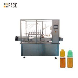 छोटी शीशी बोतल के लिए पेरिस्टाल्टिक पंप तरल भरने की मशीन