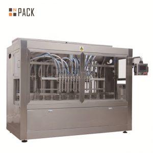 स्वचालित 8 भरने नलिका तरल / पेस्ट / सॉस / शहद भरने की मशीन