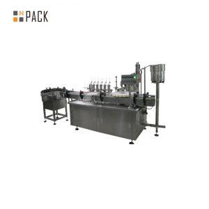 ई ग्लास तरल के लिए अनुकूलित ग्लास ड्रॉपर ई तरल भरने कैपिंग लेबलिंग मशीन