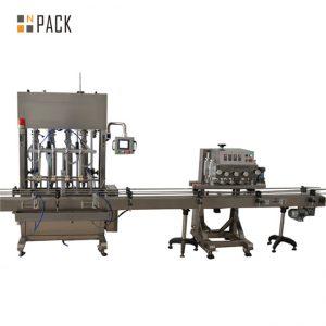 स्टेनलेस स्टील मसाला सॉस कृषि रसायन वनस्पति तेल भरने की मशीन