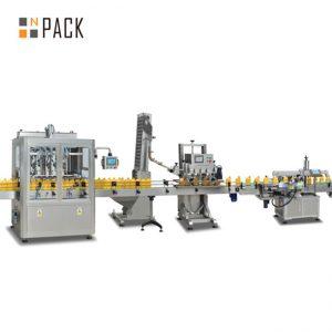 जाम पिस्टन भरने की मशीन, स्वचालित गर्म सॉस भरने की मशीन, चिली सॉस उत्पादन लाइन