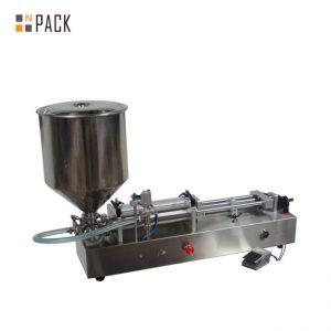 बहुत लोकप्रिय आइसक्रीम भरने की मशीन / डबल सिर भरने की मशीन / नेल पॉलिश भराव मशीन