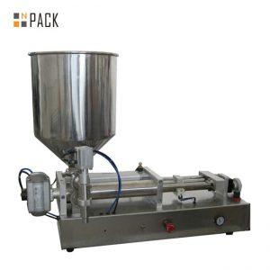 कॉस्टोमिक 2 हेड्स सेमी ऑटोमैटिक एसिड लिक्विड फिलिंग मशीन
