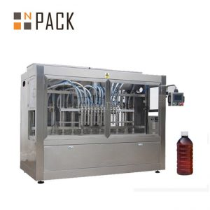 स्वचालित खाना पकाने के तेल भरने की मशीन सॉस जाम शहद भरने कैपिंग मशीन