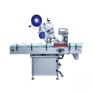 ऊर्ध्वाधर प्रकार स्वचालित गोल कंटेनर लेबलिंग मशीन